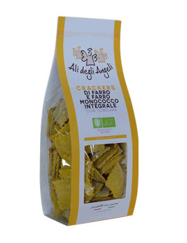 Cracker Farro-Monococco Curcuma B