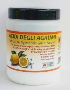 3121 Detergente naturale pronto Acidi degli Agrumi