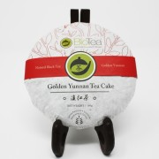 Golden Yunnan Black Tea Cake 2
