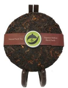 Superior Mellow Black Puerh Tea Cake 1